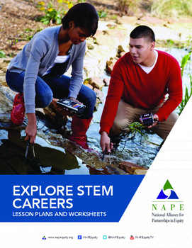 (BUNDLE) Explore STEM Careers Toolkit Lesson Plans and Worksheets