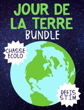 [BUNDLE] FRENCH Earth Day/Jour de la Terre Activities