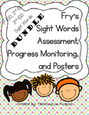 **BUNDLE** Fry's 1st, 2nd, & 3rd 100 Assessment, Progress