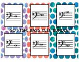 **BUNDLE** Go Fish: Bass Clef Note ID Lvl 1-3