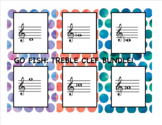 **BUNDLE**Go Fish: Treble Clef Note ID Levels 1-3