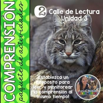 *BUNDLE* Grade 2 Unit 3 SPANISH Comprehension Trifolds