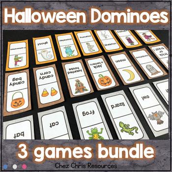 [BUNDLE] Halloween Dominoes : 3 games !
