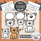 *BUNDLE* How to draw ANIMALS Clip Art