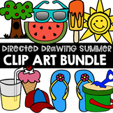 *BUNDLE* How to draw SUMMER THINGS CLIP ART