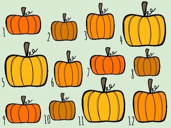 **BUNDLE** IWB Games: Pumpkin Patch Rhythms