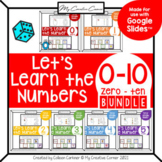 [BUNDLE] Learn the Numbers 0-10 Digital Interactive Lesson