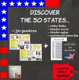 {BUNDLE} Let's visit the 50 States !