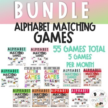 *BUNDLE* Letter Recognition Games