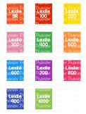 *BUNDLE* Lexile Level Spine Labels - Avery A4 L7651