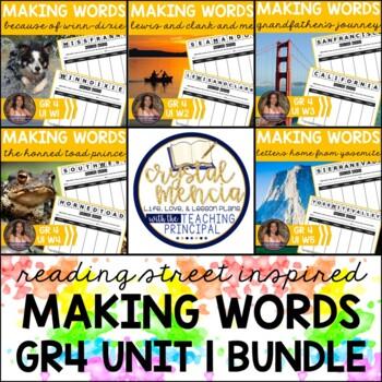 *BUNDLE* Making Words - Gr4 Unit 1