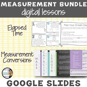 *BUNDLE* Measurement Google Interactive Lesson Pack