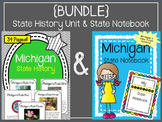 {BUNDLE} Michigan History Unit and State Notebook. US History