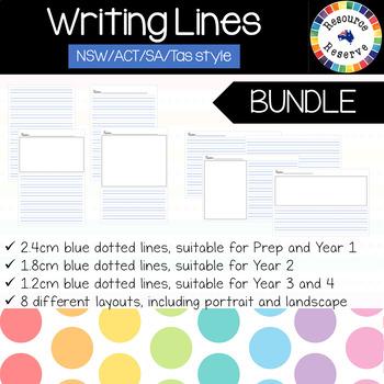 {BUNDLE} Handwriting Lines - NSW/ACT/SA/Tas style