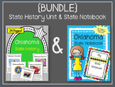 {BUNDLE} Oklahoma State History Unit and State Notebook Bundle.  US History