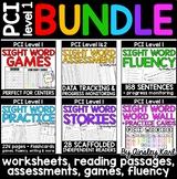 Special Education BUNDLE PCI Level 1 Sight Words - Workshe
