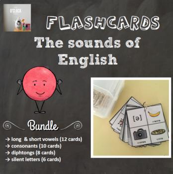 {BUNDLE} Phonetics flashcards