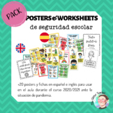 [BUNDLE] Posters & Worksheets en inglés y español Segurida