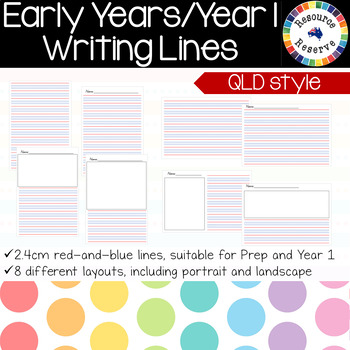 {BUNDLE} Handwriting Lines- Queensland style