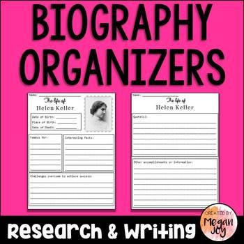 Biography Reports (Bundle!)