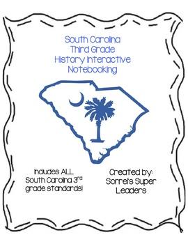 **BUNDLE** South Carolina 3rd Grade History