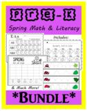 *BUNDLE* Spring Pre-k Math & Literacy