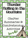 {BUNDLE} Thunder Rolling in the Mountains - Summaries + Comprehension Activities