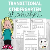 Transitional Kindergarten Alphabet Review Pages - uppercas