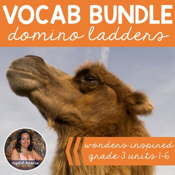 *BUNDLE* Vocabulary Dominoes - Wonders Grade 3