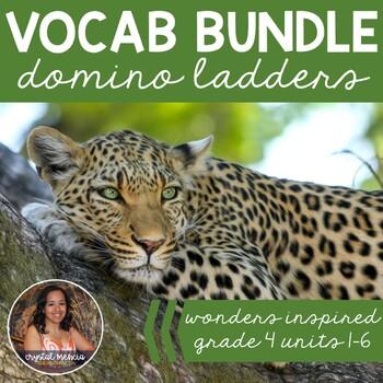 *BUNDLE* Vocabulary Dominoes - Wonders Grade 4