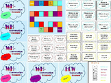 *BUNDLE* WH- Question Cards AND Game