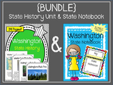 {BUNDLE} Washington State History Unit and State Notebook Bundle