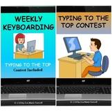 BUNDLE Weekly Keyboarding/Keyboarding Contest for Distance