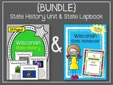 {BUNDLE} Wisconsin State Notebook Project & Wisconsin Stat