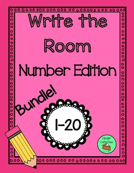 *BUNDLE* Write the Room - Numbers 1-20