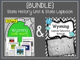 {BUNDLE} Wyoming State Lapbook & Wyoming State History Unit.