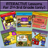 {BUNDLE for 2nd-3rd Grade} 6 INTERACTIVE Guidance Lessons