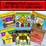 {BUNDLE for 4th-6th Grade} 6 INTERACTIVE Guidance Lessons