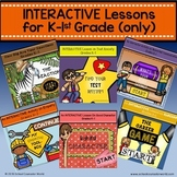 {BUNDLE for K-1st Grade} 6 INTERACTIVE Guidance Lessons