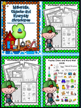 GRADE ONE SCIENCE UNITs - Bundled