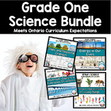 First Grade Science Units Bundle