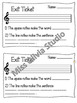 *BUNDLED* Grade 1-4 *MUSIC* Lessons