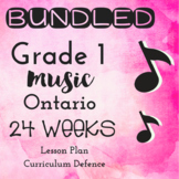 *BUNDLED* Grade 1 *MUSIC* 24 Weeks
