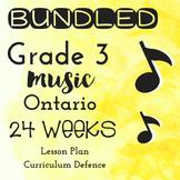 *BUNDLED* Grade 3 *MUSIC* 24 weeks