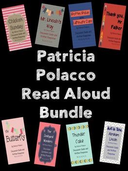 {BUNDLED} Patricia Polacco Author Study Read Alouds
