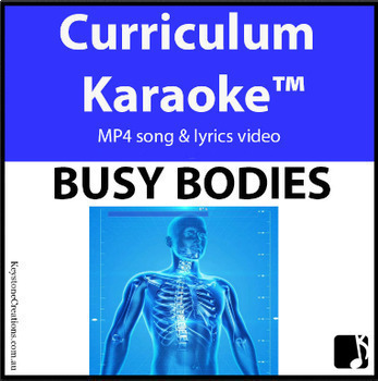'BUSY BODIES' ~ Curriculum Karaoke™ MP4 Song & Lyrics for Whiteboard