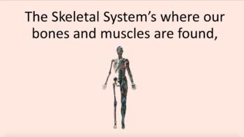 'BUSY BODIES' ~ MP4 Curriculum Karaoke™ READ, SING, LEARN: Human Body Systems