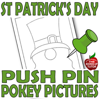 {BUSY BOXES} {ST PATRICK'S DAY ACTIVITIES} {PUSH PIN PICTURES}
