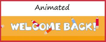 Google Classroom Animated Theme (Back to School)