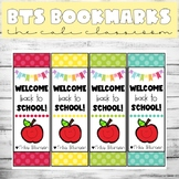 ☀️ Back to School Bookmarks (Editable)